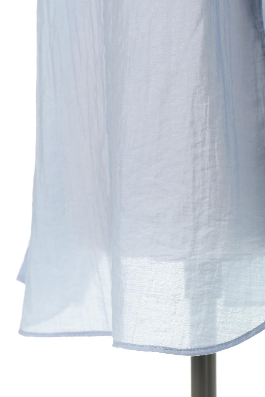 SheerPoplinBosomBlouseシアーポプリン・ブザムブラウス大人カジュアルに最適な海外ファッションのothers(その他インポートアイテム)のトップスやシャツ・ブラウス。胸元の切り替えが特徴的な長袖のブザムブラウス。透け感が人気のポプリン素材を使用したのブラウスです。/main-24