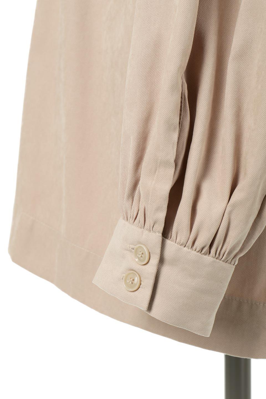 StandCollarTieBackBlouseスタンドカラー・リボンバックブラウス大人カジュアルに最適な海外ファッションのothers(その他インポートアイテム)のトップスやシャツ・ブラウス。各所にギャザーをあしらったビッグサイズブラウス。ギャザーのスタンドカラーと背中のリボンが目を引くブラウスです。/main-26