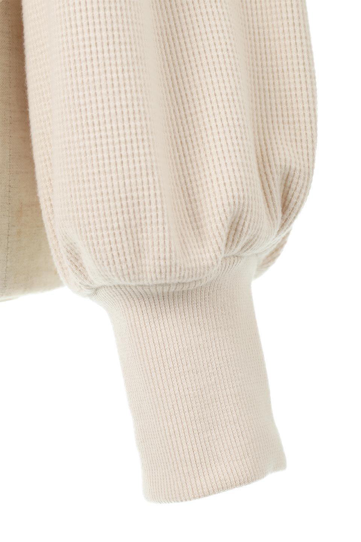 DolmanSleeveTieWaistWaffleTopドルマンスリーブ・ワッフルトップス大人カジュアルに最適な海外ファッションのothers(その他インポートアイテム)のトップスやカットソー。春に活躍するワッフル素材のカットソー。シャツより厚くスウェットより薄い生地感でまだ肌寒い春先にぴったりのアイテムです。/main-21