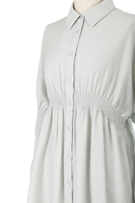 GatheredSleeveLongBlouseギャザースリーブ・ロングブラウス大人カジュアルに最適な海外ファッションのothers(その他インポートアイテム)のトップスやシャツ・ブラウス。各所のギャザーが可愛い長袖のシャツブラウス。長めの着丈と細見え効果が期待できるウエストのギャザーで、気になるボディラインのカバーにもピッタリ。/main-22