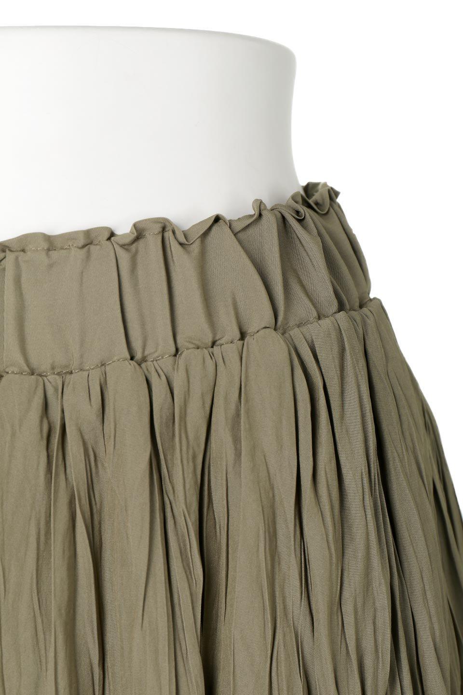 CrushPleatedLongSkirtクラッシュプリーツ・ロングスカート大人カジュアルに最適な海外ファッションのothers(その他インポートアイテム)のボトムやスカート。ヴィンテージライクなマットサテンの生地がポイントのナチュラルなプリーツスカート。生地の落ち感を利用し、生地をたっぷり使ったスカートのシルエットとボリュームを綺麗に見せるデザイン。/main-16