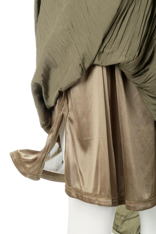 CrushPleatedLongSkirtクラッシュプリーツ・ロングスカート大人カジュアルに最適な海外ファッションのothers(その他インポートアイテム)のボトムやスカート。ヴィンテージライクなマットサテンの生地がポイントのナチュラルなプリーツスカート。生地の落ち感を利用し、生地をたっぷり使ったスカートのシルエットとボリュームを綺麗に見せるデザイン。/main-21