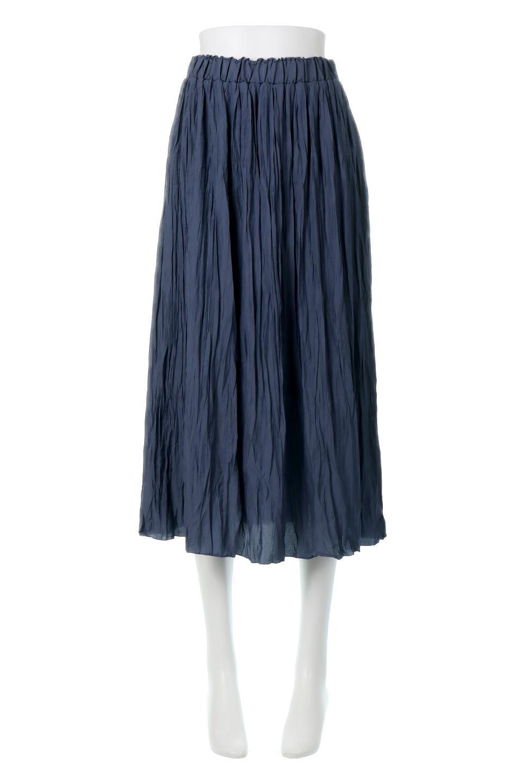 CrushPleatedLongSkirtクラッシュプリーツ・ロングスカート大人カジュアルに最適な海外ファッションのothers(その他インポートアイテム)のボトムやスカート。ヴィンテージライクなマットサテンの生地がポイントのナチュラルなプリーツスカート。生地の落ち感を利用し、生地をたっぷり使ったスカートのシルエットとボリュームを綺麗に見せるデザイン。/main-5