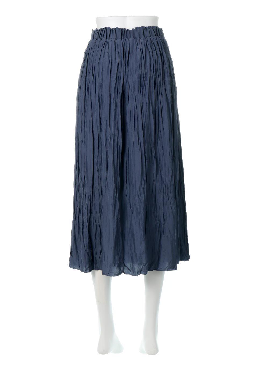 CrushPleatedLongSkirtクラッシュプリーツ・ロングスカート大人カジュアルに最適な海外ファッションのothers(その他インポートアイテム)のボトムやスカート。ヴィンテージライクなマットサテンの生地がポイントのナチュラルなプリーツスカート。生地の落ち感を利用し、生地をたっぷり使ったスカートのシルエットとボリュームを綺麗に見せるデザイン。/main-9
