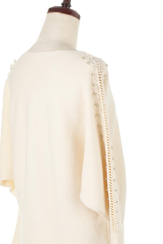 SheerShoulderDolmanKnitTopシアーショルダー・ドルマンニット大人カジュアルに最適な海外ファッションのothers(その他インポートアイテム)のトップスやニット・セーター。露出しすぎないハシゴレースが上品さを演出するドルマンニット。なめらかな質感の薄手のニットはシーズンを問わずずっと使える素材感。/main-18
