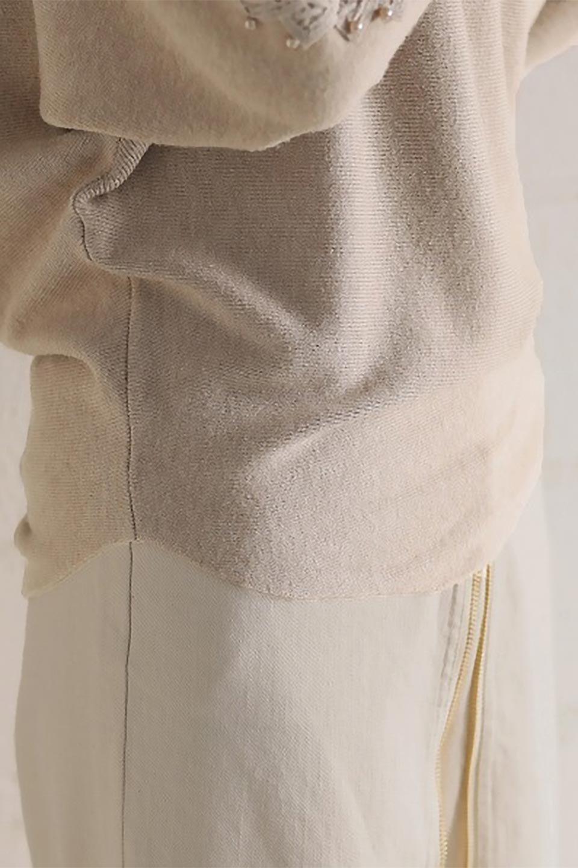 SheerShoulderDolmanKnitTopシアーショルダー・ドルマンニット大人カジュアルに最適な海外ファッションのothers(その他インポートアイテム)のトップスやニット・セーター。露出しすぎないハシゴレースが上品さを演出するドルマンニット。なめらかな質感の薄手のニットはシーズンを問わずずっと使える素材感。/main-32