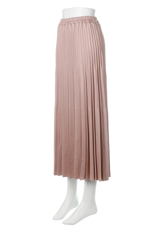 MatSatinRandomPleatedSkirtランダムプリーツ・ロングスカート大人カジュアルに最適な海外ファッションのothers(その他インポートアイテム)のボトムやスカート。光沢を抑えたマットな質感のサテン生地を使用したプリーツスカート。肌離れが良いサラッとした素材とウエストゴムでストレスフリーな穿き心地もおすすめポイント。/main-1