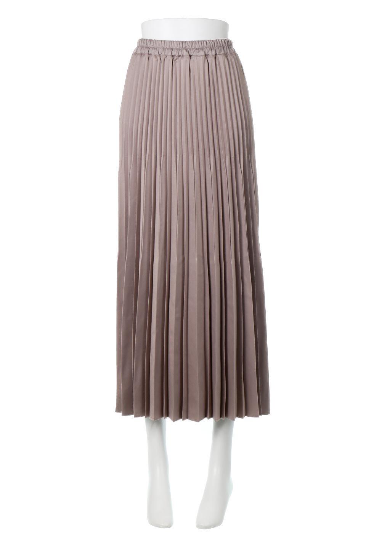MatSatinRandomPleatedSkirtランダムプリーツ・ロングスカート大人カジュアルに最適な海外ファッションのothers(その他インポートアイテム)のボトムやスカート。光沢を抑えたマットな質感のサテン生地を使用したプリーツスカート。肌離れが良いサラッとした素材とウエストゴムでストレスフリーな穿き心地もおすすめポイント。/main-5