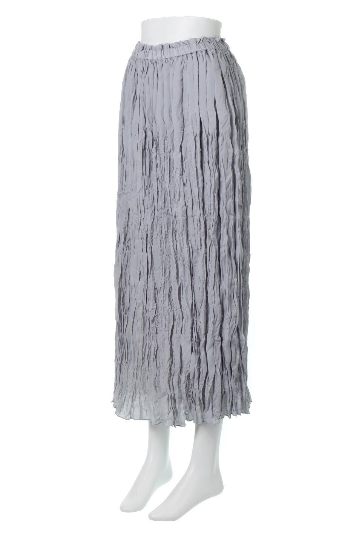 CrushPleatedMaxiLongSkirtクラッシュプリーツ・マキシスカート大人カジュアルに最適な海外ファッションのothers(その他インポートアイテム)のボトムやスカート。クシャクシャのシワが特徴のクラッシュプリーツ加工を施したマキシスカート。もちろんシワになっても気にならず、気楽に楽しめ宇スカートです。/main-1