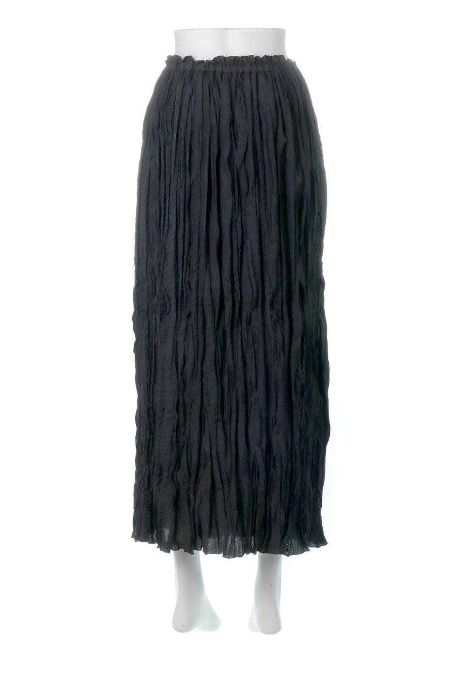CrushPleatedMaxiLongSkirtクラッシュプリーツ・マキシスカート大人カジュアルに最適な海外ファッションのothers(その他インポートアイテム)のボトムやスカート。クシャクシャのシワが特徴のクラッシュプリーツ加工を施したマキシスカート。もちろんシワになっても気にならず、気楽に楽しめ宇スカートです。/main-14