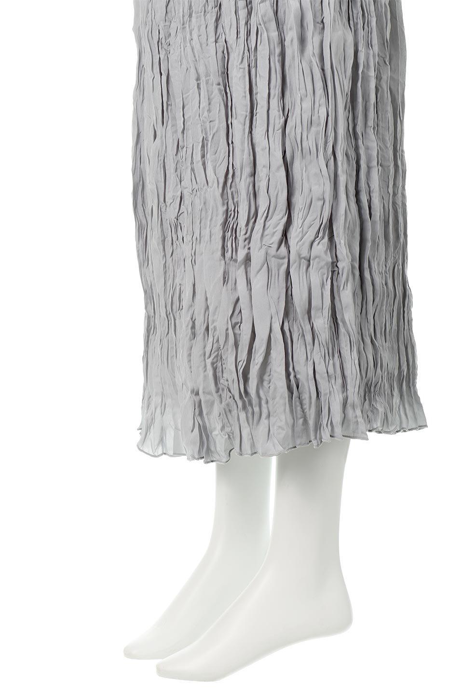 CrushPleatedMaxiLongSkirtクラッシュプリーツ・マキシスカート大人カジュアルに最適な海外ファッションのothers(その他インポートアイテム)のボトムやスカート。クシャクシャのシワが特徴のクラッシュプリーツ加工を施したマキシスカート。もちろんシワになっても気にならず、気楽に楽しめ宇スカートです。/main-18