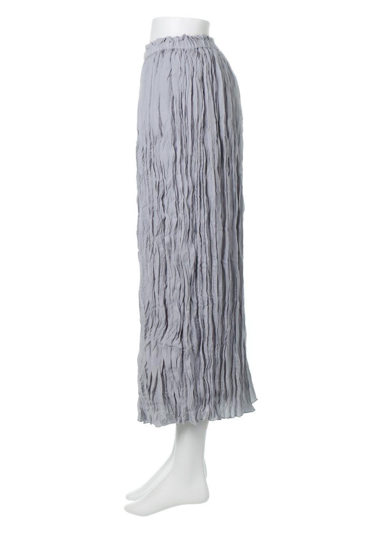 CrushPleatedMaxiLongSkirtクラッシュプリーツ・マキシスカート大人カジュアルに最適な海外ファッションのothers(その他インポートアイテム)のボトムやスカート。クシャクシャのシワが特徴のクラッシュプリーツ加工を施したマキシスカート。もちろんシワになっても気にならず、気楽に楽しめ宇スカートです。/main-2
