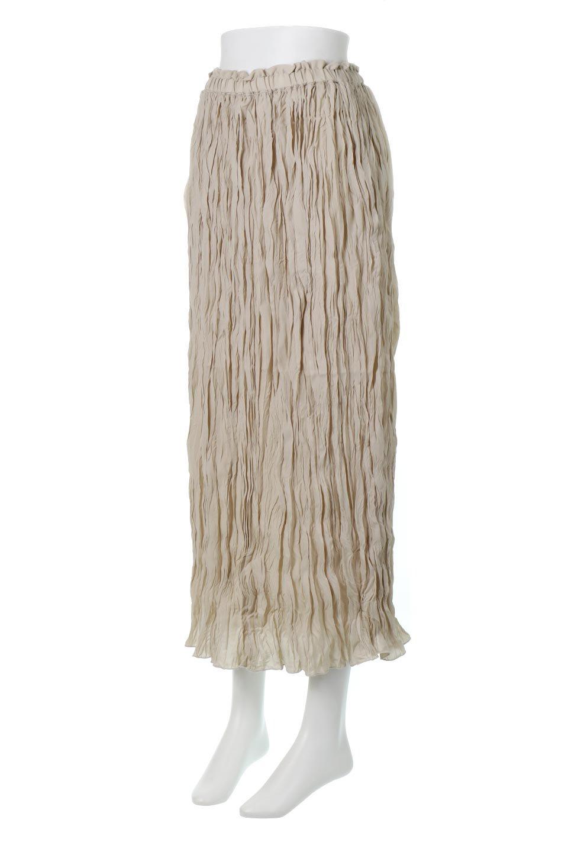 CrushPleatedMaxiLongSkirtクラッシュプリーツ・マキシスカート大人カジュアルに最適な海外ファッションのothers(その他インポートアイテム)のボトムやスカート。クシャクシャのシワが特徴のクラッシュプリーツ加工を施したマキシスカート。もちろんシワになっても気にならず、気楽に楽しめ宇スカートです。/main-6