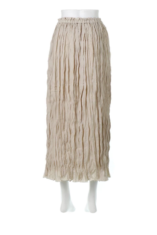 CrushPleatedMaxiLongSkirtクラッシュプリーツ・マキシスカート大人カジュアルに最適な海外ファッションのothers(その他インポートアイテム)のボトムやスカート。クシャクシャのシワが特徴のクラッシュプリーツ加工を施したマキシスカート。もちろんシワになっても気にならず、気楽に楽しめ宇スカートです。/main-9