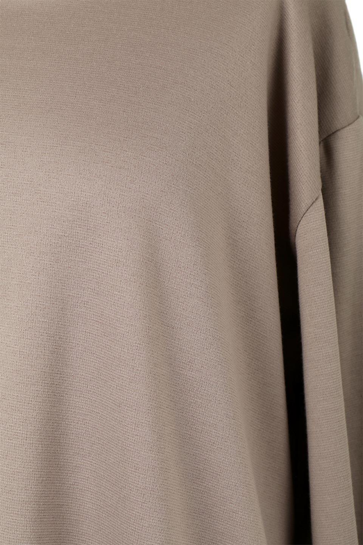 PleatedBackPanelTopプリーツ切り替え・オープンバックトップス大人カジュアルに最適な海外ファッションのothers(その他インポートアイテム)のトップスやカットソー。バックの切り替えが可愛いポンチ素材のカットソー。背中から覗くプリーツがポイントのトップス。/main-19