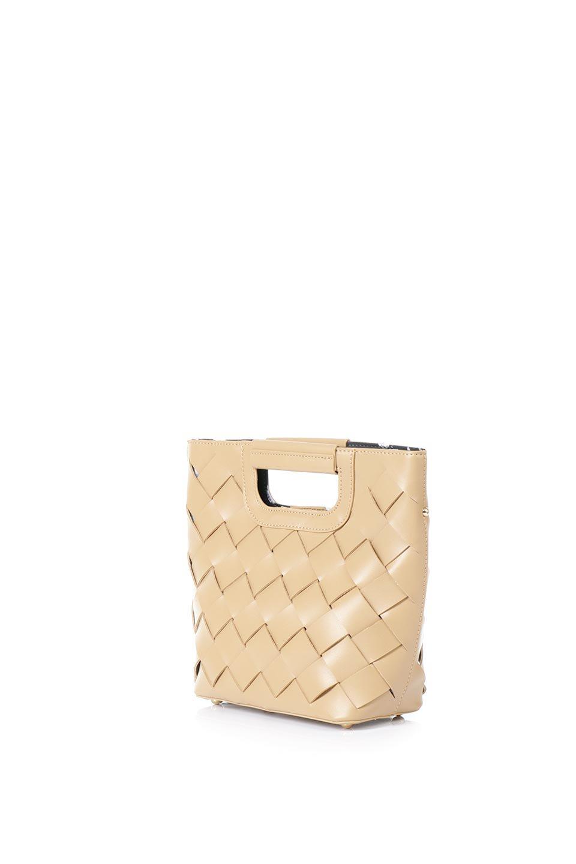 meliebiancoのEllen(Nude)2Way・編み込みハンドバッグ/海外ファッション好きにオススメのインポートバッグとかばん、MelieBianco(メリービアンコ)のバッグやハンドバッグ。可愛い大きさの編み込みハンドバッグ。しっとりとしたプレミアム・ビーガンレザーをメッシュ状に編み込んだ2Wayタイプ。/main-1