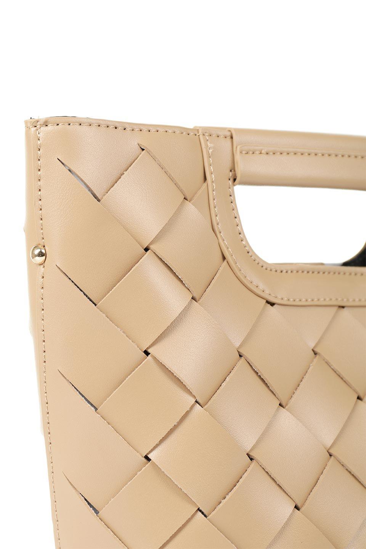meliebiancoのEllen(Nude)2Way・編み込みハンドバッグ/海外ファッション好きにオススメのインポートバッグとかばん、MelieBianco(メリービアンコ)のバッグやハンドバッグ。可愛い大きさの編み込みハンドバッグ。しっとりとしたプレミアム・ビーガンレザーをメッシュ状に編み込んだ2Wayタイプ。/main-5