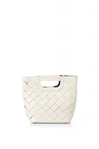 melie biancoのEllen (Bone) 2Way・編み込みハンドバッグ / 大人カジュアルに最適な海外ファッションが得意な福島市のセレクトショップbloom