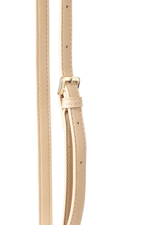 meliebiancoのJody(Nude)編み込み・巾着ミニショルダーバッグ/海外ファッション好きにオススメのインポートバッグとかばん、MelieBianco(メリービアンコ)のバッグやショルダーバッグ。iPhoneと最小限の持ち物だけでお出かけするのにぴったりな巾着バッグ。大きな財布が必要ないキャッシュレス世代にお勧めのコンパクトサイズのショルダーバッグです。/main-5