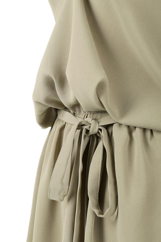 WaistRibbonHighNeckLongBlouseハイネック・ロングブラウス大人カジュアルに最適な海外ファッションのothers(その他インポートアイテム)のトップスやシャツ・ブラウス。春らしいカラーリングのハイネック・ロングブラウス。ジョーゼットの生地もまた春っぽいサラリとした肌触りです。/main-29