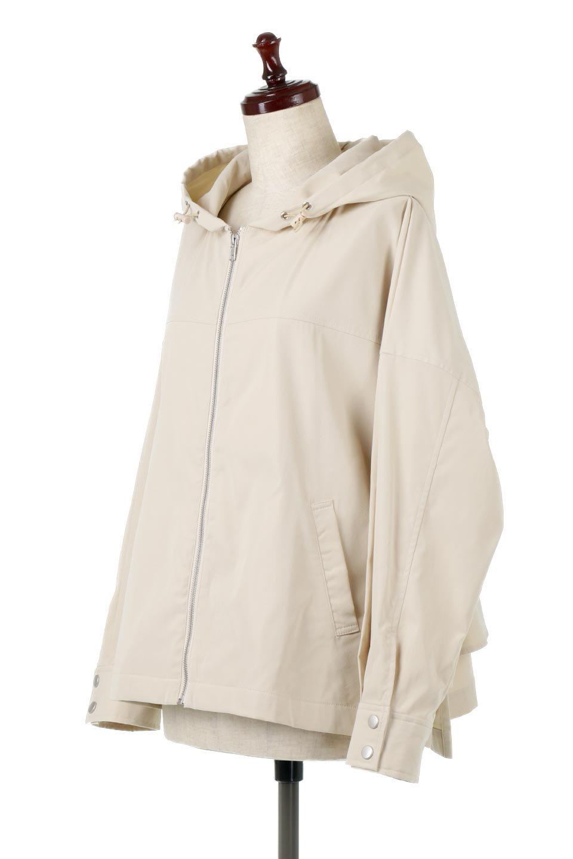 FrilledBackShortMountainParkaバックフリル・ショートマウンテンパーカ大人カジュアルに最適な海外ファッションのothers(その他インポートアイテム)のアウターやジャケット。春にぴったりのショート丈マウンテンパーカ。腰の3段フリルが可愛いカジュアルな春アイテム。/main-1