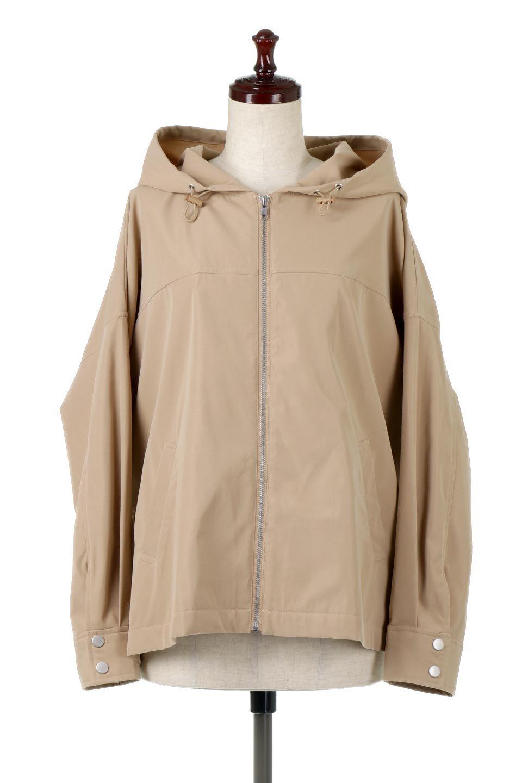 FrilledBackShortMountainParkaバックフリル・ショートマウンテンパーカ大人カジュアルに最適な海外ファッションのothers(その他インポートアイテム)のアウターやジャケット。春にぴったりのショート丈マウンテンパーカ。腰の3段フリルが可愛いカジュアルな春アイテム。/main-10