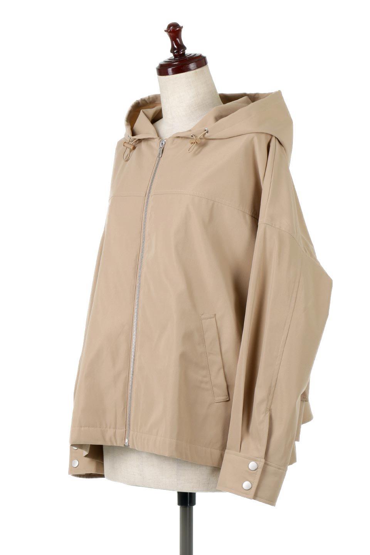 FrilledBackShortMountainParkaバックフリル・ショートマウンテンパーカ大人カジュアルに最適な海外ファッションのothers(その他インポートアイテム)のアウターやジャケット。春にぴったりのショート丈マウンテンパーカ。腰の3段フリルが可愛いカジュアルな春アイテム。/main-11