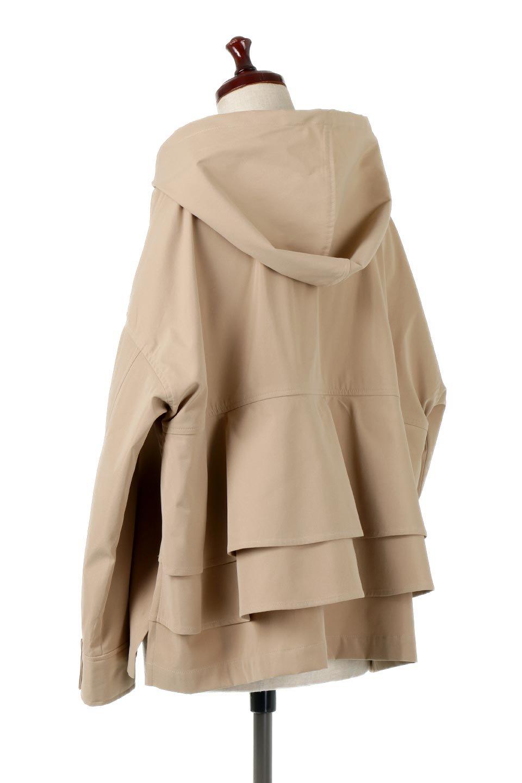 FrilledBackShortMountainParkaバックフリル・ショートマウンテンパーカ大人カジュアルに最適な海外ファッションのothers(その他インポートアイテム)のアウターやジャケット。春にぴったりのショート丈マウンテンパーカ。腰の3段フリルが可愛いカジュアルな春アイテム。/main-13