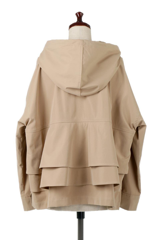 FrilledBackShortMountainParkaバックフリル・ショートマウンテンパーカ大人カジュアルに最適な海外ファッションのothers(その他インポートアイテム)のアウターやジャケット。春にぴったりのショート丈マウンテンパーカ。腰の3段フリルが可愛いカジュアルな春アイテム。/main-14