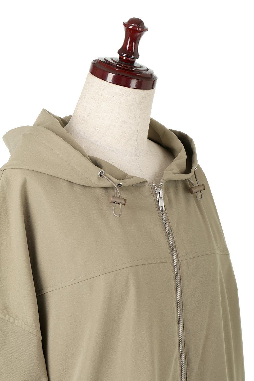 FrilledBackShortMountainParkaバックフリル・ショートマウンテンパーカ大人カジュアルに最適な海外ファッションのothers(その他インポートアイテム)のアウターやジャケット。春にぴったりのショート丈マウンテンパーカ。腰の3段フリルが可愛いカジュアルな春アイテム。/main-15