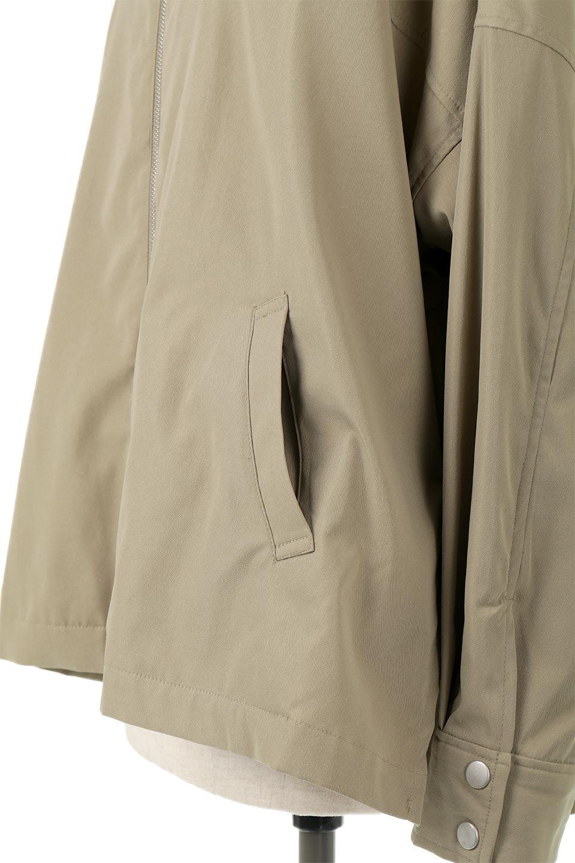 FrilledBackShortMountainParkaバックフリル・ショートマウンテンパーカ大人カジュアルに最適な海外ファッションのothers(その他インポートアイテム)のアウターやジャケット。春にぴったりのショート丈マウンテンパーカ。腰の3段フリルが可愛いカジュアルな春アイテム。/main-18