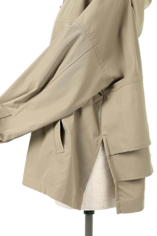 FrilledBackShortMountainParkaバックフリル・ショートマウンテンパーカ大人カジュアルに最適な海外ファッションのothers(その他インポートアイテム)のアウターやジャケット。春にぴったりのショート丈マウンテンパーカ。腰の3段フリルが可愛いカジュアルな春アイテム。/main-20