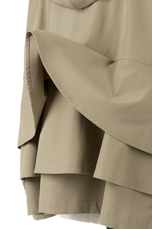 FrilledBackShortMountainParkaバックフリル・ショートマウンテンパーカ大人カジュアルに最適な海外ファッションのothers(その他インポートアイテム)のアウターやジャケット。春にぴったりのショート丈マウンテンパーカ。腰の3段フリルが可愛いカジュアルな春アイテム。/main-21