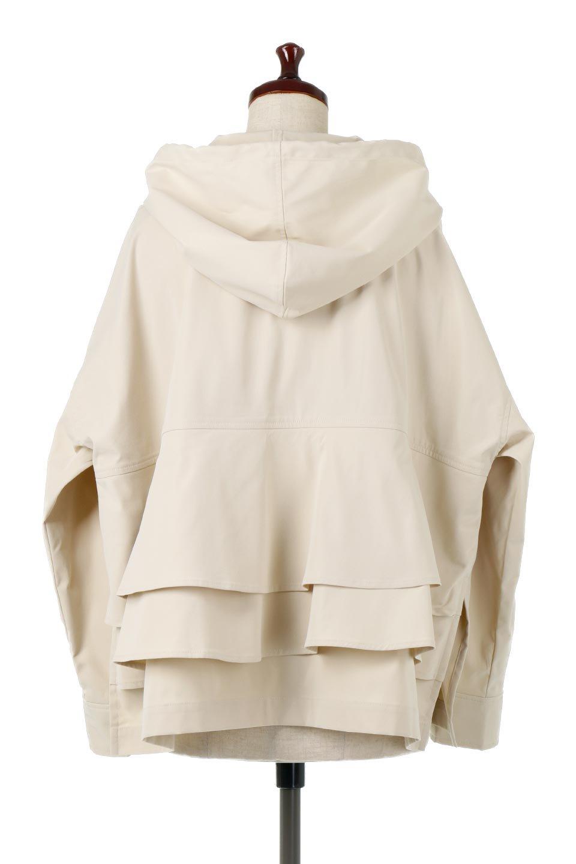 FrilledBackShortMountainParkaバックフリル・ショートマウンテンパーカ大人カジュアルに最適な海外ファッションのothers(その他インポートアイテム)のアウターやジャケット。春にぴったりのショート丈マウンテンパーカ。腰の3段フリルが可愛いカジュアルな春アイテム。/main-4