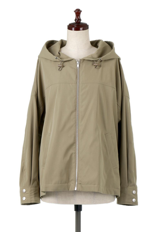 FrilledBackShortMountainParkaバックフリル・ショートマウンテンパーカ大人カジュアルに最適な海外ファッションのothers(その他インポートアイテム)のアウターやジャケット。春にぴったりのショート丈マウンテンパーカ。腰の3段フリルが可愛いカジュアルな春アイテム。/main-5