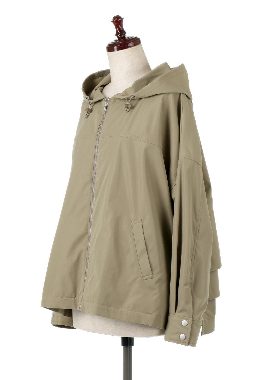 FrilledBackShortMountainParkaバックフリル・ショートマウンテンパーカ大人カジュアルに最適な海外ファッションのothers(その他インポートアイテム)のアウターやジャケット。春にぴったりのショート丈マウンテンパーカ。腰の3段フリルが可愛いカジュアルな春アイテム。/main-6