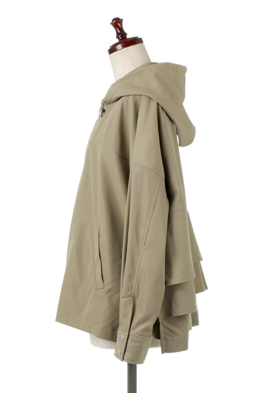 FrilledBackShortMountainParkaバックフリル・ショートマウンテンパーカ大人カジュアルに最適な海外ファッションのothers(その他インポートアイテム)のアウターやジャケット。春にぴったりのショート丈マウンテンパーカ。腰の3段フリルが可愛いカジュアルな春アイテム。/main-7