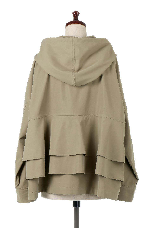 FrilledBackShortMountainParkaバックフリル・ショートマウンテンパーカ大人カジュアルに最適な海外ファッションのothers(その他インポートアイテム)のアウターやジャケット。春にぴったりのショート丈マウンテンパーカ。腰の3段フリルが可愛いカジュアルな春アイテム。/main-9
