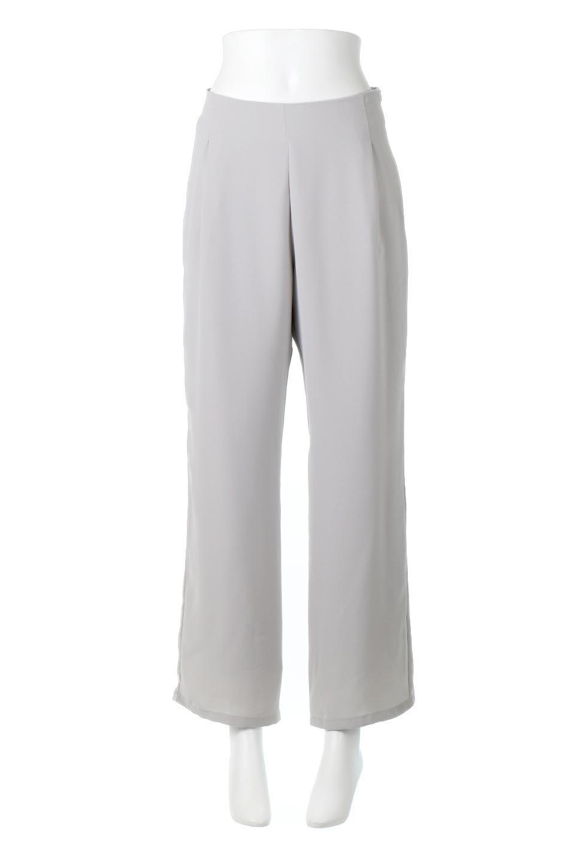 StraightWideLegPants裏地付き・ストレートワイドパンツ大人カジュアルに最適な海外ファッションのothers(その他インポートアイテム)のボトムやパンツ。サラリとしたジョーゼット生地のワイドパンツ。上品なストレートのシルエットで、応用範囲の広いパンツです。/main-10