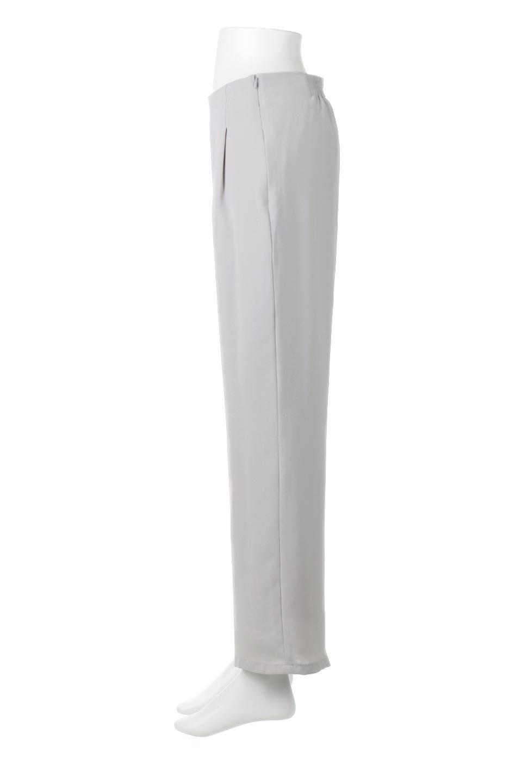 StraightWideLegPants裏地付き・ストレートワイドパンツ大人カジュアルに最適な海外ファッションのothers(その他インポートアイテム)のボトムやパンツ。サラリとしたジョーゼット生地のワイドパンツ。上品なストレートのシルエットで、応用範囲の広いパンツです。/main-12