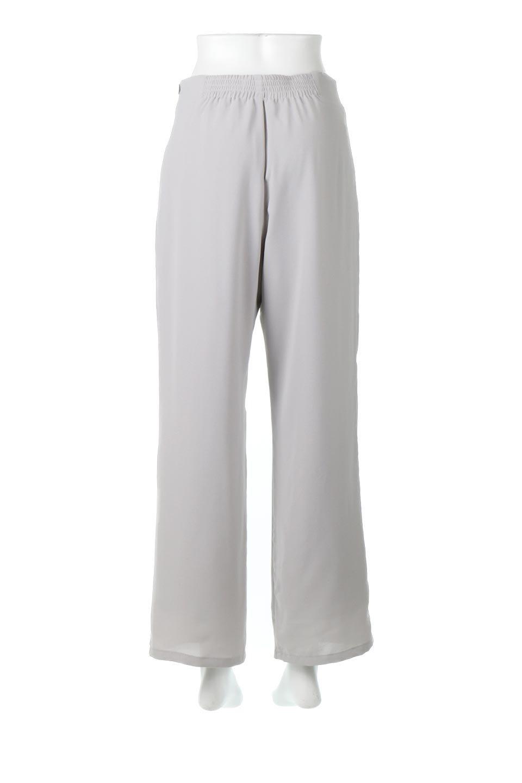 StraightWideLegPants裏地付き・ストレートワイドパンツ大人カジュアルに最適な海外ファッションのothers(その他インポートアイテム)のボトムやパンツ。サラリとしたジョーゼット生地のワイドパンツ。上品なストレートのシルエットで、応用範囲の広いパンツです。/main-14