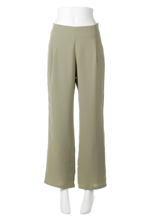 StraightWideLegPants裏地付き・ストレートワイドパンツ大人カジュアルに最適な海外ファッションのothers(その他インポートアイテム)のボトムやパンツ。サラリとしたジョーゼット生地のワイドパンツ。上品なストレートのシルエットで、応用範囲の広いパンツです。/main-15
