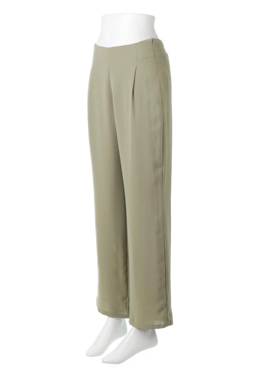 StraightWideLegPants裏地付き・ストレートワイドパンツ大人カジュアルに最適な海外ファッションのothers(その他インポートアイテム)のボトムやパンツ。サラリとしたジョーゼット生地のワイドパンツ。上品なストレートのシルエットで、応用範囲の広いパンツです。/main-16