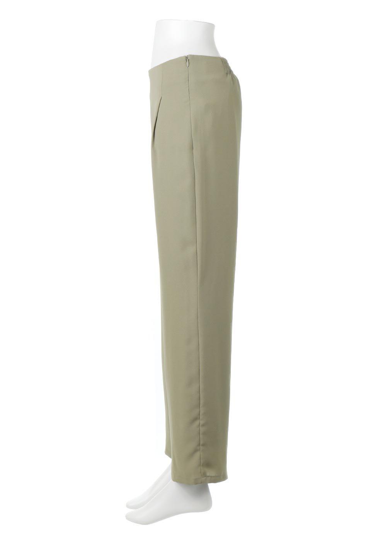 StraightWideLegPants裏地付き・ストレートワイドパンツ大人カジュアルに最適な海外ファッションのothers(その他インポートアイテム)のボトムやパンツ。サラリとしたジョーゼット生地のワイドパンツ。上品なストレートのシルエットで、応用範囲の広いパンツです。/main-17