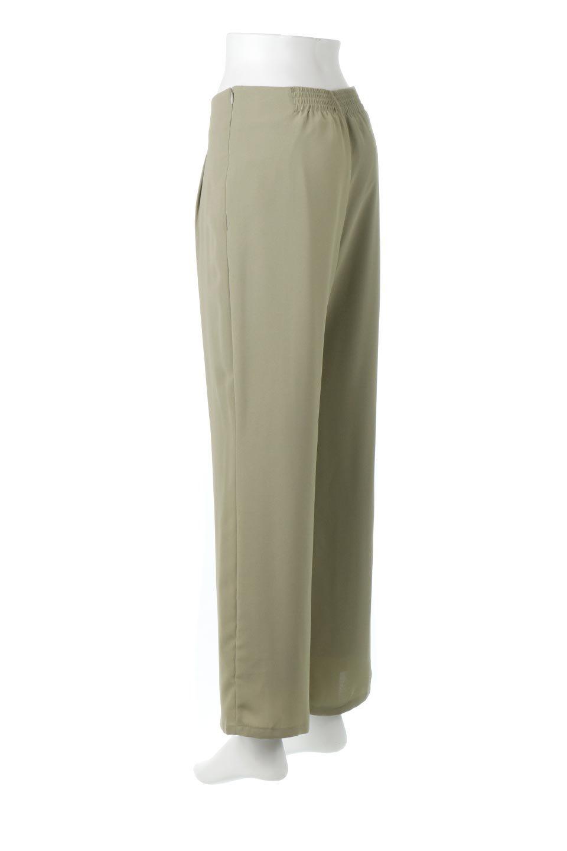 StraightWideLegPants裏地付き・ストレートワイドパンツ大人カジュアルに最適な海外ファッションのothers(その他インポートアイテム)のボトムやパンツ。サラリとしたジョーゼット生地のワイドパンツ。上品なストレートのシルエットで、応用範囲の広いパンツです。/main-18