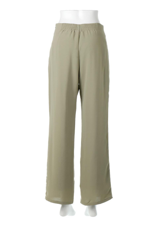 StraightWideLegPants裏地付き・ストレートワイドパンツ大人カジュアルに最適な海外ファッションのothers(その他インポートアイテム)のボトムやパンツ。サラリとしたジョーゼット生地のワイドパンツ。上品なストレートのシルエットで、応用範囲の広いパンツです。/main-19