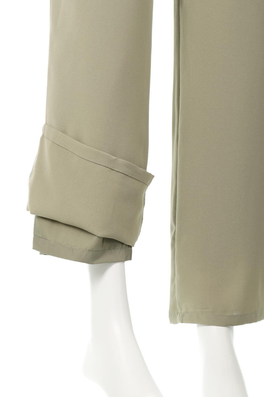 StraightWideLegPants裏地付き・ストレートワイドパンツ大人カジュアルに最適な海外ファッションのothers(その他インポートアイテム)のボトムやパンツ。サラリとしたジョーゼット生地のワイドパンツ。上品なストレートのシルエットで、応用範囲の広いパンツです。/main-25