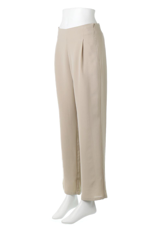 StraightWideLegPants裏地付き・ストレートワイドパンツ大人カジュアルに最適な海外ファッションのothers(その他インポートアイテム)のボトムやパンツ。サラリとしたジョーゼット生地のワイドパンツ。上品なストレートのシルエットで、応用範囲の広いパンツです。/main-6