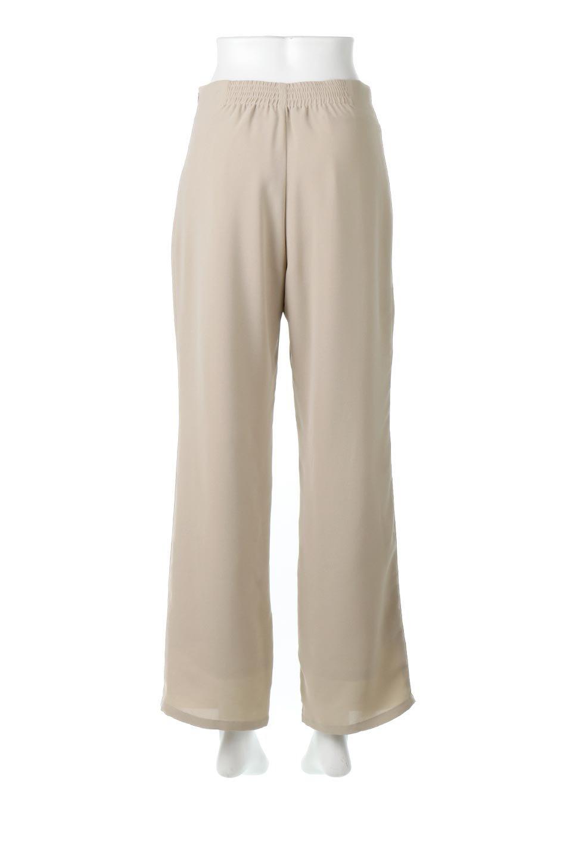 StraightWideLegPants裏地付き・ストレートワイドパンツ大人カジュアルに最適な海外ファッションのothers(その他インポートアイテム)のボトムやパンツ。サラリとしたジョーゼット生地のワイドパンツ。上品なストレートのシルエットで、応用範囲の広いパンツです。/main-9