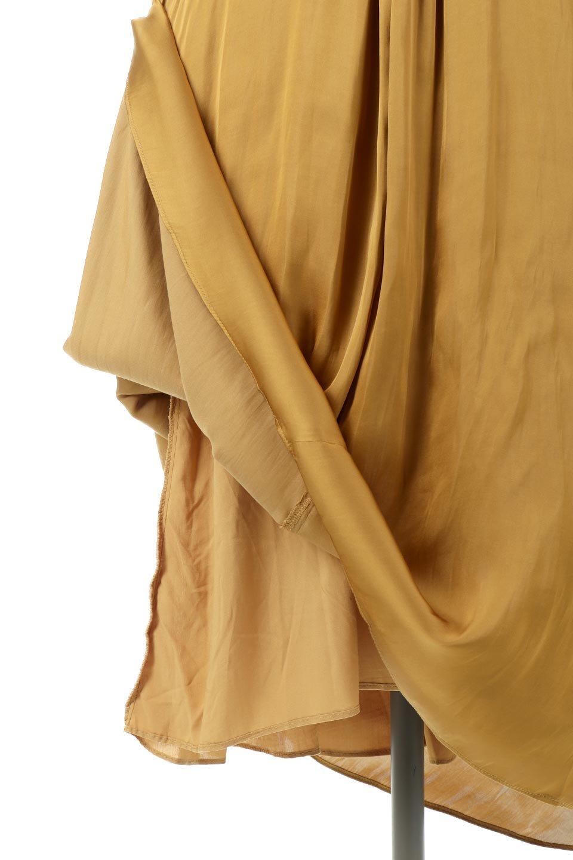 TwistedFrontDetailMaxiDressフロントツイスト・サテンマキシワンピースfromL.A.大人カジュアルに最適な海外ファッションのothers(その他インポートアイテム)のワンピースやマキシワンピース。大人の雰囲気を醸し出すサテンの長袖ワンピース。上品な光沢のサテン地はその場を華やかにしてくれます。/main-15
